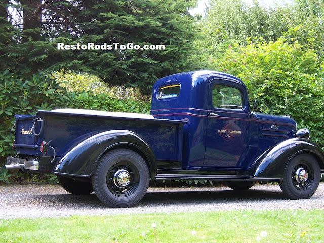 General Jumbo Wheels On 1937 Chevrolet Pickup Truck