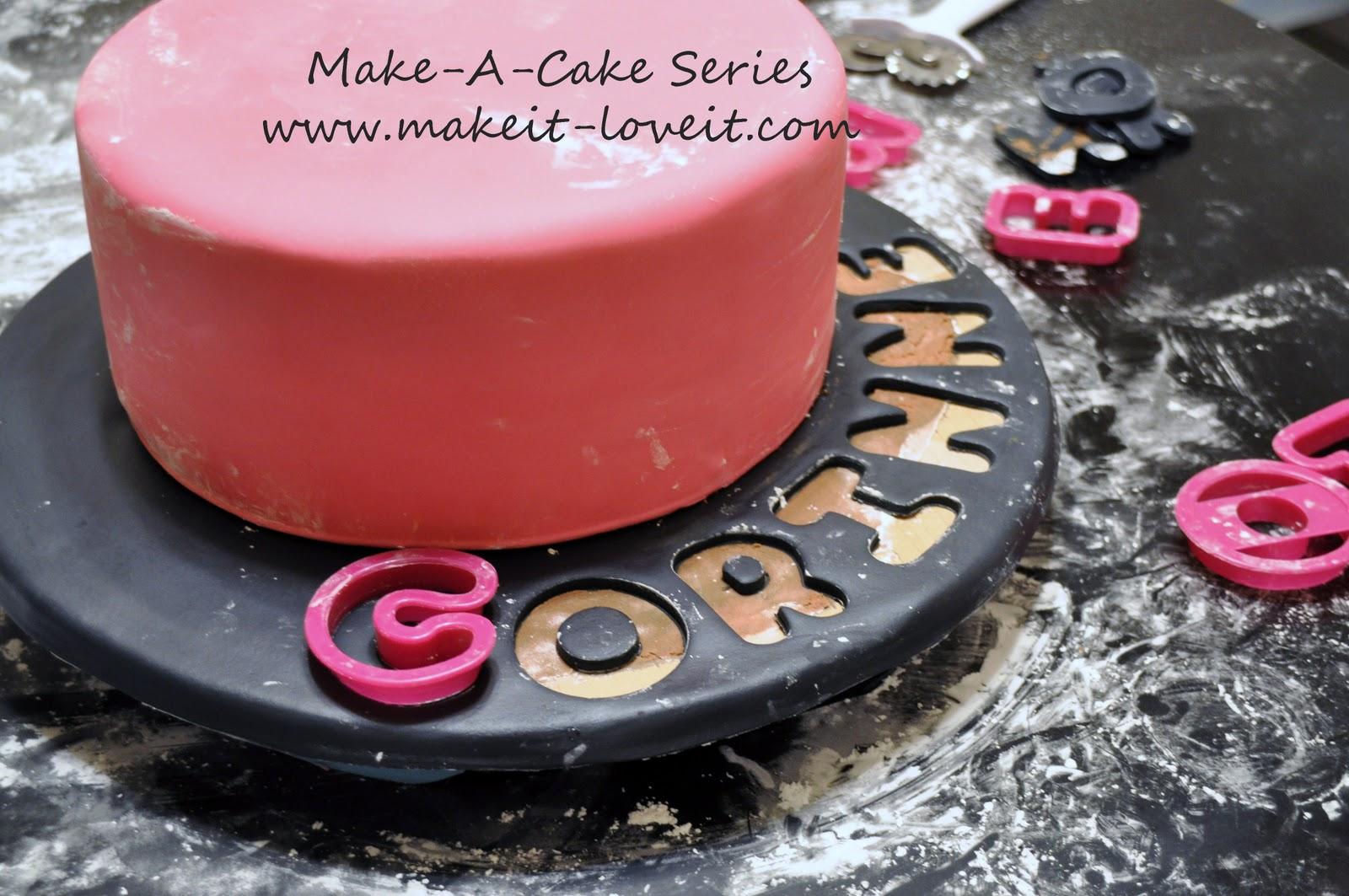 Make A Cake Series Music Cake Make It And Love It