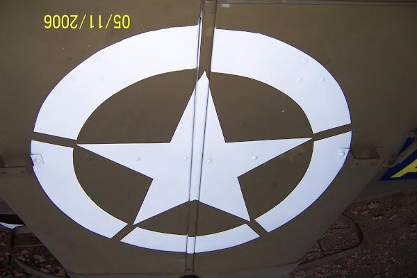 l'étoile de capot
