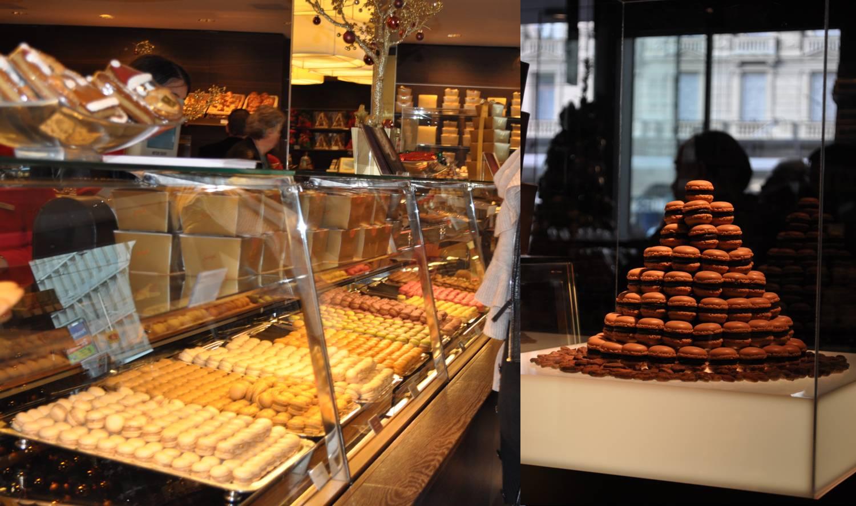 Sprungli chocolate shop/ Zurich, Switzerland Swiss and
