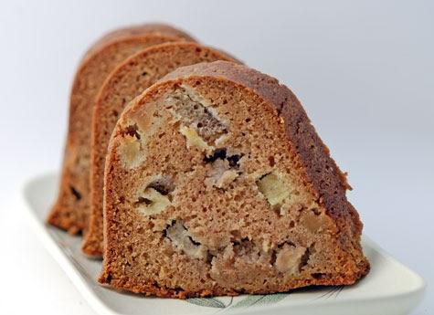 Sugar Free Applesauce Bundt Cake