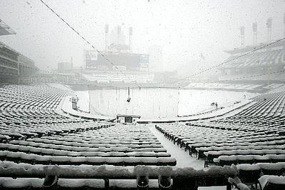 cleveland snow - AP image