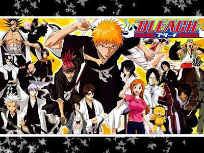 Bleach Japanese Manga
