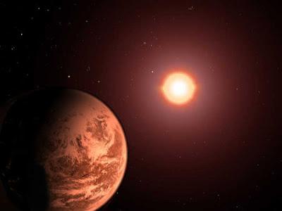 Planeta gira al revés