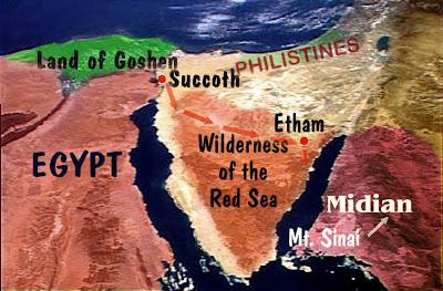 Israel Rumbo Mar Rojo