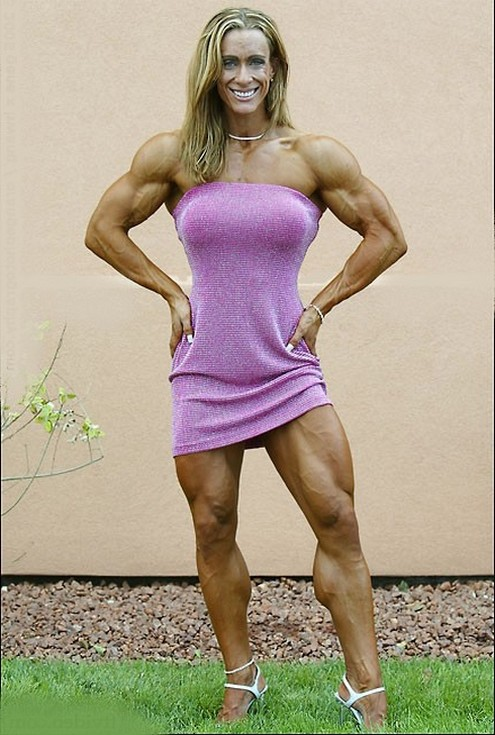 Muscular Women's Dressed: Amanda Dunbar. ( & Melissa ...