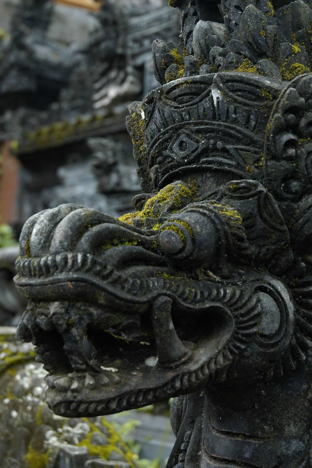Matt' Statue Of Dragon Bali Indonesia