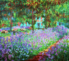 Monet Garden Givergny