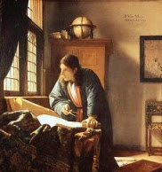 Vermeer, The Geographer