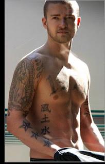 Justin Timberlake tattoos images