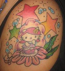Kitty star tattoos pics