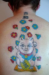 images of kitty fairy tattoo