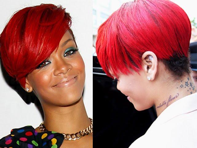 0024a15b28307 Rihanna new neck tattoo