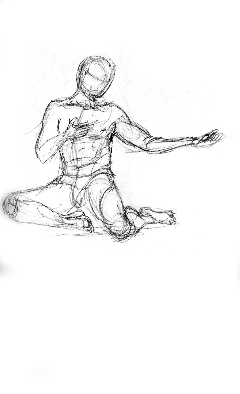 It's just a picture of Divine Figure Drawing Male