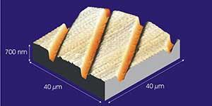 Nanosurf'un çektiği ilk resim