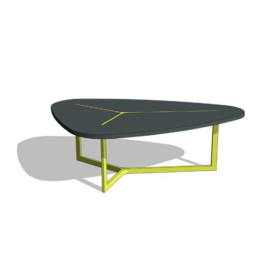 revit components free family seven table b b italia. Black Bedroom Furniture Sets. Home Design Ideas