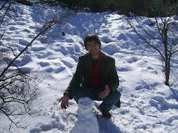 Con el monito de nieve
