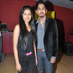Siddharth & Padmapriya at Striker Success Bash