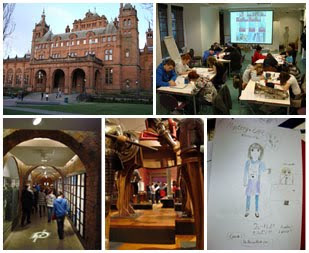 Kelvingrove博物馆和艺术画廊的漫画讲习班