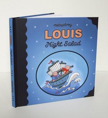 路易斯–夜间沙拉实际的书!