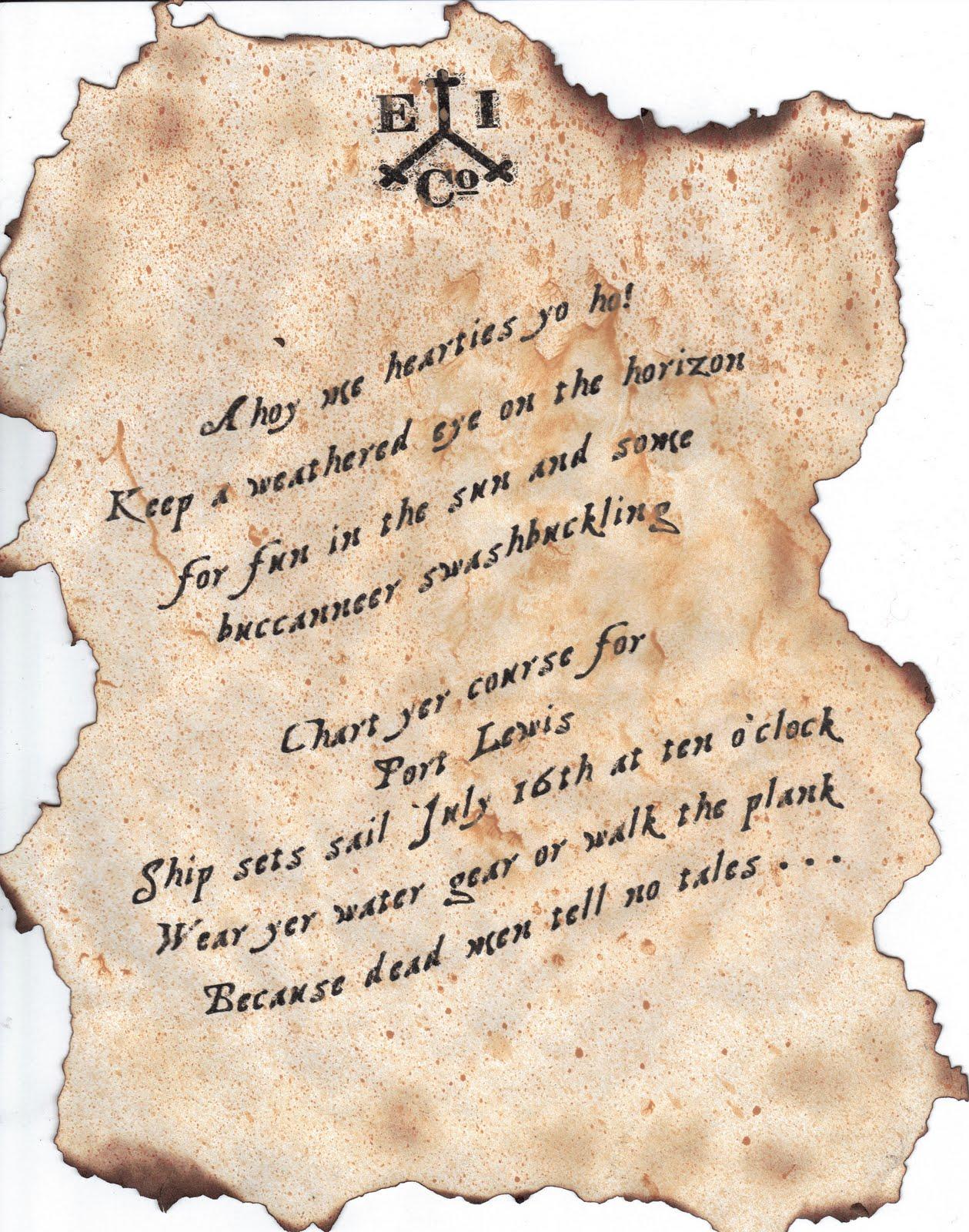 Pirate party invitation wording best printable invitation design phoenix event planning pirate party invitations stopboris Image collections