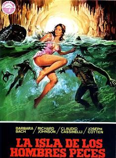 Poster de La Isla de los hombres peces