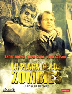 La Plaga de los Zombies / Carátula DVD