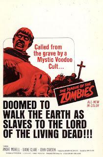 La plaga de los Zombies, poster original