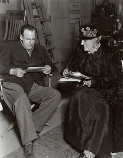 Tod Browning y Lionel Barrymore