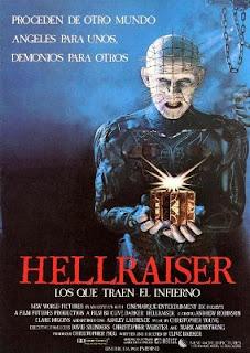 la ópera prime de Clive Barker: Hellraiser