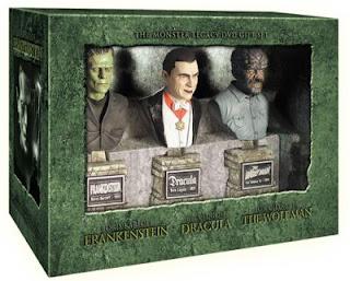 Box Set editado en nuestro país de los mosntruos clásicos de la Universal.