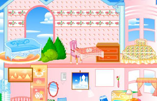 play doll house makeover games