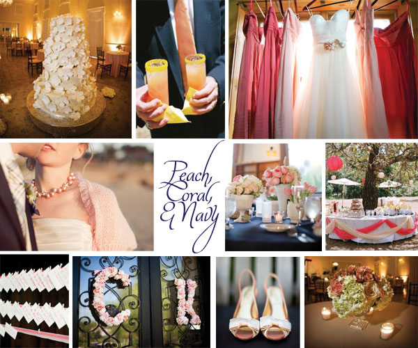 Navy And Coral Wedding Colors: My Stunning Wedding For Less: Coral & Navy