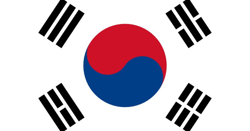 Bandera de Corea del Sur [Eurowon]