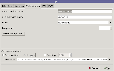 Raphinou's blog: Building a webcam recorder with VLC, Ion
