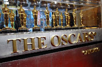 Fifty Oscars, two statuettes that belonged to Hollywood legends, and one statuette for the public to hold are on display at