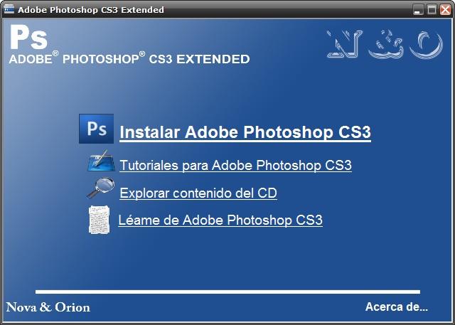 Pidan el Programa Que Quieran Adobe.Photoshop.CS3.Estended