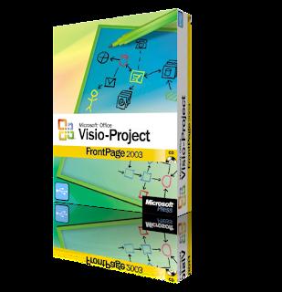 portable microsoft office project visio y frontpage 2003 espaol - Visio 2003 Portable