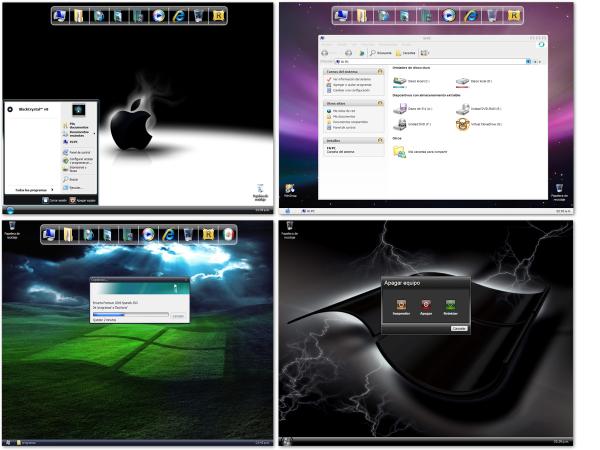 ✅ Windows XP Black Crystal SP3 Español  [ UL - FF ] Windows%2BXP%2BBlackCrystal%E2%84%A2%2BUltimate%2BSP3-3