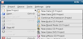 Novo CD de dados