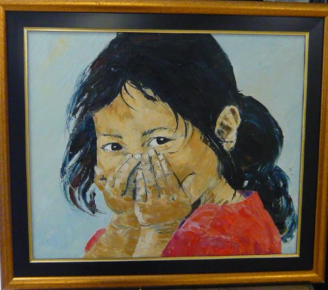 """COUCOU C'EST MOI ! Portrait """"Pte Fille"""" par Marie-Claire LANZA"""