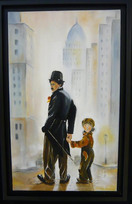 """""""CHARLOT ET THE KID"""" par Agnès BOCHET"""