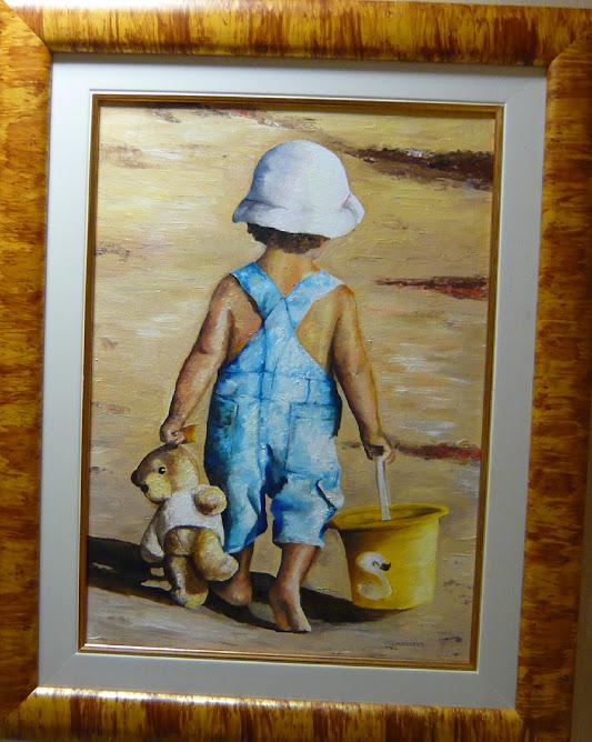 """L'ENFANT AU SEAU"" par Geneviève BOTTINO"