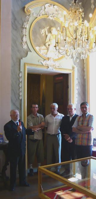 MINERAUX ET FOSSILES - EXPOSITION D'ETE DE LA SOCIETE D'HISTOIRE ET D'ARCHEOLOGIE
