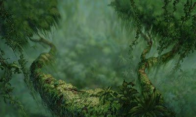 Animation backgrounds tarzan disney 1999 - Tarzan wallpaper ...