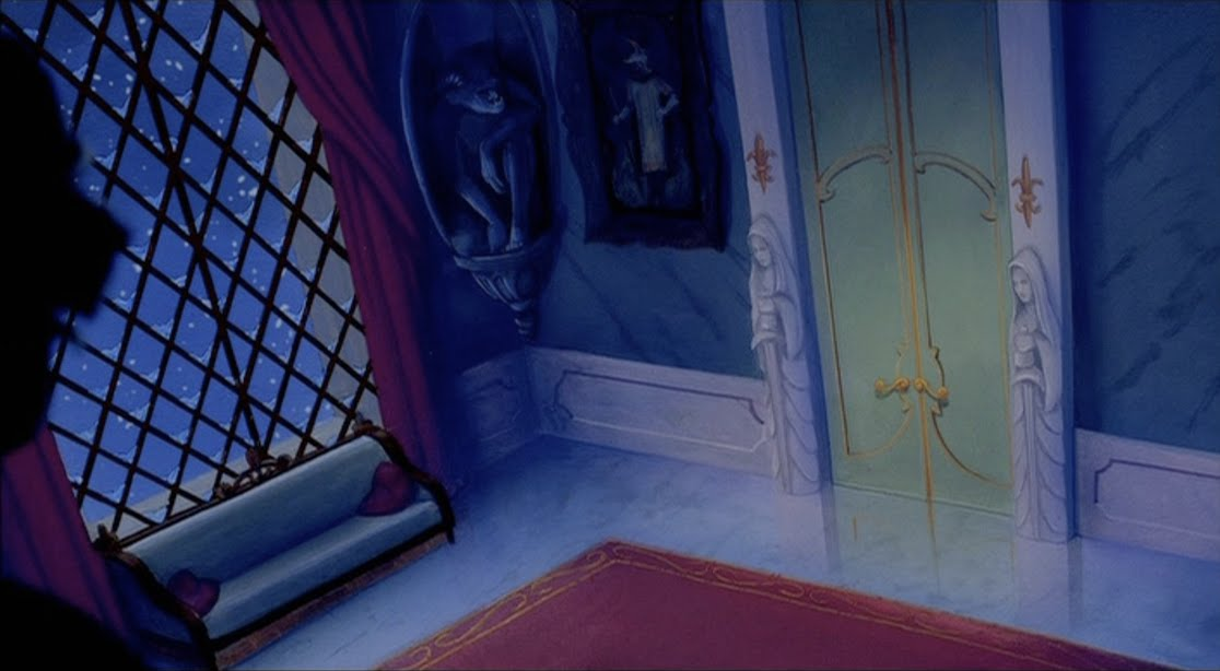 Animation Backgrounds: BEAUTY AND THE BEAST Castle Interiors