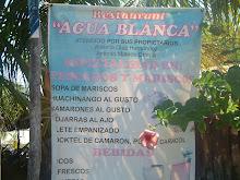 "Restaurant ""AGUA BLANCA"""