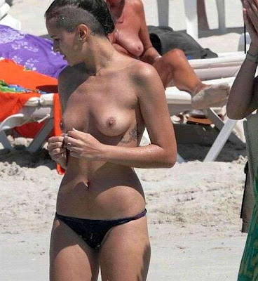 Alice dellal topless opinion