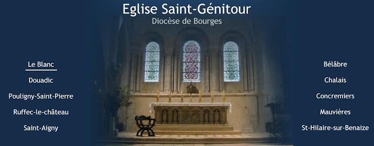 Eglise Saint-Génitour - Le Blanc (36)