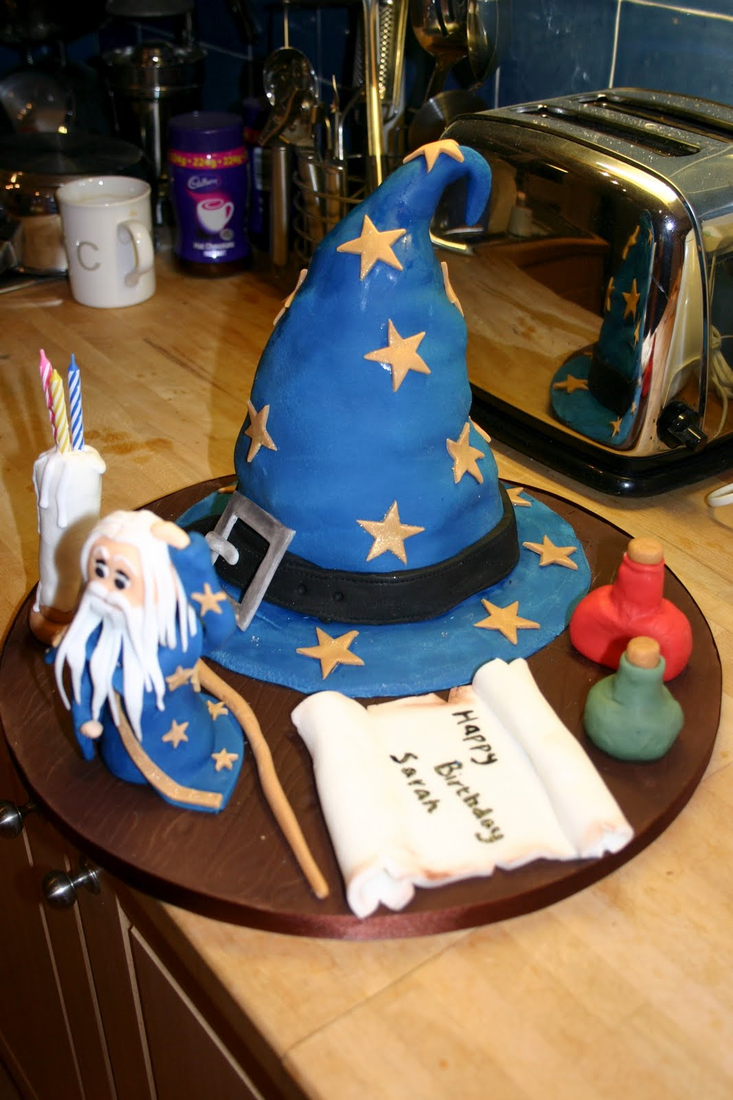 Rosie S Cakes Wizard Cake